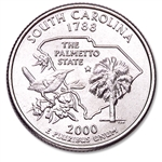 2000-S South Carolina Proof State Quarter