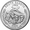 South Dakota State Quarter 2006-D