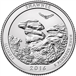 2016-P Shawnee National Park Quarter