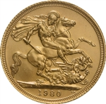 British Gold Sovereigns - Random Date