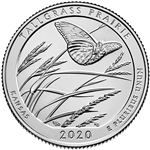 2020-P Tallgrass Prairie National Park Quarter