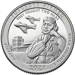 2021-S Proof Tuskegee Airmen National Park Quarter