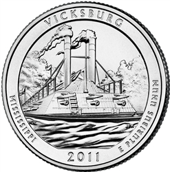 Vicksburg National Park Quarter
