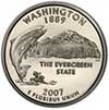 Washington Proof State Quarter 2007-S