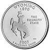 Wyoming Proof State Quarter 2007-S
