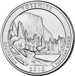 America the Beautiful Quarters Yosemite