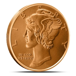 Mercury Dime Copper Rounds