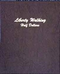 Walking Liberty Half Dollars Dansco Coin Albums