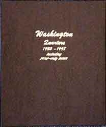 Dansco Washington Quarter Album with Proofs
