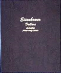 Dansco Eisenhower Dollars Album with Proofs