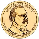 2012-P Grover Cleveland 2nd Term Presidential Dollar