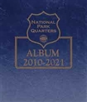 Whitman Coin Collecting Albums National Park Quarters Date Set