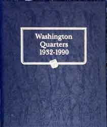 Whitman Coin Collecting Albums Washington Quarters