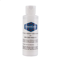 Gel Paste Bright White Food Coloring 4.5 oz