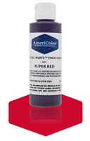 Gel Paste Super Red Food Coloring 4.5 oz