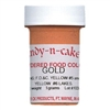 Dry Powder Gold (Egg Yellow) Food Coloring 3 grams