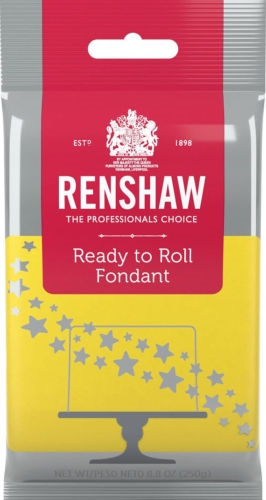 Renshaw Fondant Yellow