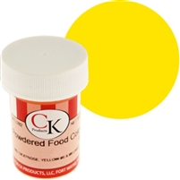 Dry Powder Lemon Yellow Food Coloring 9 grams