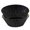 Black Foil Standard Cupcake Liners Baking Cup