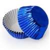 Royal Blue Foil Standard Cupcake Liners Baking Cup