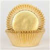 Gold Metallic Foil Standard Cupcake Liners Baking Cup
