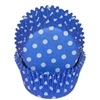 Blue  White Polka Dots  Standard Cupcake Liners Baking Cup