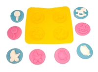 Flexible Mold - Baby Shower