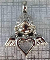 Angel Child Heart Cremation Pendant (Chain Sold Separately)