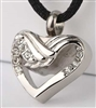 All Wrapped Up Heart Cremation Pendant (Chain Sold Separately)