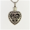 Son Heart Cremation Pendant (Chain Sold Separately)