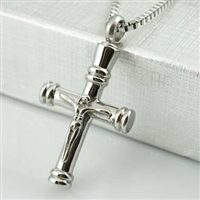 Crucifix Cross Cremation Pendant (Chain Sold Separately)