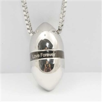 """Love Forever"" Egg Cremation Pendant (Chain Sold Separately)"