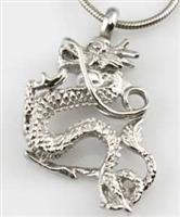 Dragon Cremation Pendant (Chain Sold Separately)