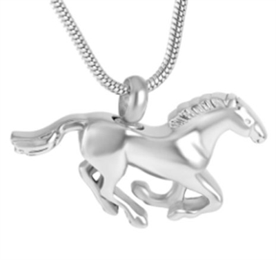 Horse Cremation Jewelry Pendant (Chain Sold Separately)
