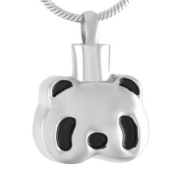 Panda Cremation Pendant (Chain Sold Separately)