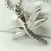 Dragonfly Cremation Pendant (Chain Sold Separately)
