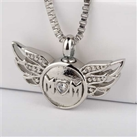 Mom With Angel Wings (Chain Sold Separately)