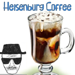 HEISENBERG COFFEE E-LIQUID