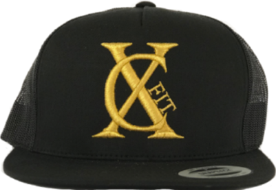 Black/Gold Snapback ***Limited Edition
