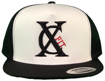 Black/White/Red Snapback