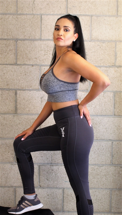 Grey Dynamic Legging