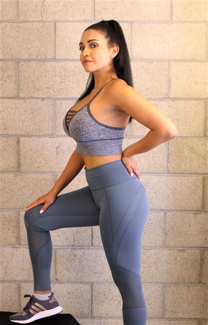 Sea Green Sleek Legging