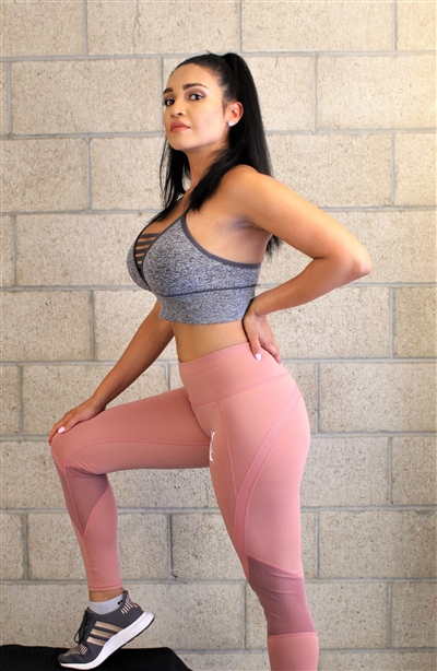 Pink Rose Sleek Legging