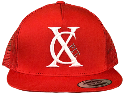 Fire Red Snapback