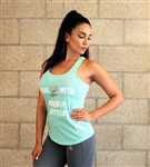 Mint Never Settle Tank