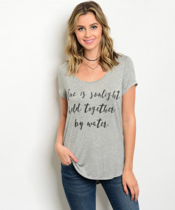 C34-A-3-T1114RLJ GRAY GRAPHIC TOP 2-2-2