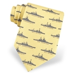 Tie: Battleships (Yellow)