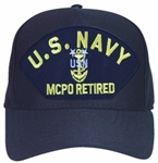 Ballcap: U.S. Navy MCPO Retired with Anchor