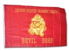 Flag: Marine Devil Dogs