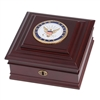 Navy Medallion Desktop Box